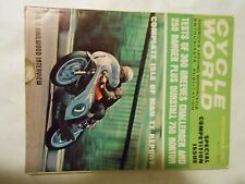 SEPTEMBER 1967 CYCLE WORLD MAGAZINE,GREEVES 360CHALLENGER,250RANGER,NORTON 750
