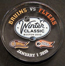 Boston Bruins Flyers 2010 Winter Classic Acrylic puck