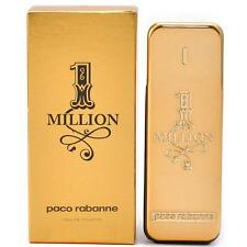 Paco RABANNE 1 One Million 100ml EDT Eau de Toilette Spray Nuovo/Scatola Originale