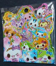 RARE Astrological Animals Sticker Sack Flakes seals Kawaii Q-lia Japan