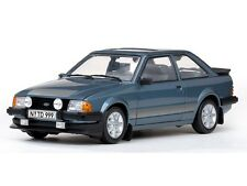 SUNSTAR 4999 FORD ESCORT Mk3 RS1600i model road car Caspian blue 1984 1:18th