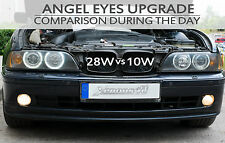 BMW 5 SERIES E39 E60 E61 M5 LED Angel Eyes Upgrade Bulbs Marker 6000K Cool White