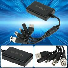 1 Channel Mini CCTV DVR TF Card Slot Digital Video Recorder VGA USB Port BB Q6N2