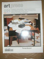 Art Press N°221 Thomas Demand André Malraux Marc Jimenez Nordey Platonov