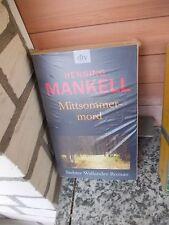 Mittsommermord, ein Roman von Henning Mankell, aus dem dtv Verlag