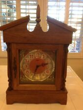 "GERMAN FRANZ HERMLE MANTEL CLOCK. ""ANN"" MODEL WITH WESTMINSTER CHIME"