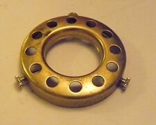 "UNO 2 1/4"" Fitter Unfinished Solid Brass Bridge Lamp Shade Holder Lamp Part"