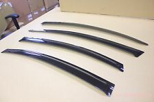 Mazda 6 Mazda6 Seden 2009-2013 Window Visor Vent Sun Shade Rain Guard 4pcs