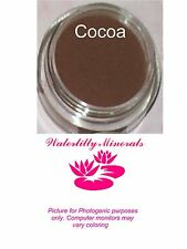 Cocoa Minerals Eye Shadow Bare Makeup Eyeshadow Dark Brown Full Size New/Sealed