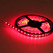 Red 5M 60Leds/M Flexible SMD 3528 Led Strip Lights Lamp For DIY 12V