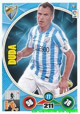 261 DUDA PORTUGAL MALAGA.CF CARD ADRENALYN 2015 PANINI