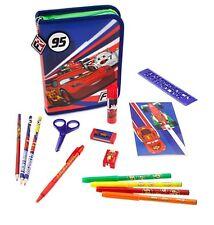 Disney Store Cars Lightning McQueen Stationery School Supply Pencil Art Set NWT
