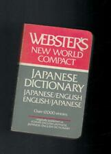 Webster´s new World Compact - Japanese Dictionary - 1983