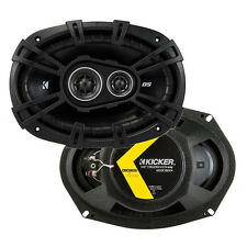 "Kicker D-Series 6x9"" 360 Watt 3-Way Car Audio Coaxial Speakers 43DSC69304 (Pair)"