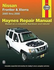 2005-2008 Haynes Nissan Frontier & Xterra Repair Manual