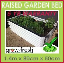 2X GREENHOUSE COLORBOND DIY RAISED PLANTER BOX GARDEN BED RRP$247-1.4mx80cmx45cm