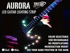 FRETLORD AURORA Guitar LED Strip Fret Position Marker Lighting USB Rechargeable