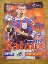 11/04/1998 Crystal Palace v Leicester City  (No Obvious Faults)