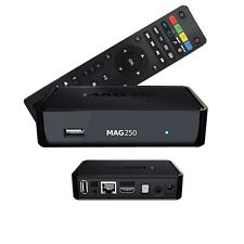Mag 250 STB BOX Multimedia player Internet TV BOX IPTV ORIGINALE USB HDTV HDMI