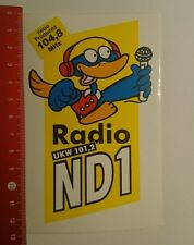 Aufkleber/Sticker: Radio ND1 ukw 101,2 (27081652)