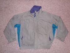 COLUMBIA Brown/Teal BUGABOO JACKET Ski Rain Coat Size Men's XL Shell Only Khaki