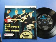 THE SHADOWS TO THE FORE Columbia 61 -1N-1N UK P/S EX/EX