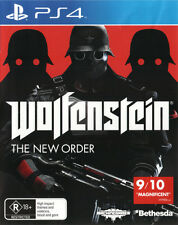 Wolfenstein The New Order  - PlayStation 4 game - BRAND NEW