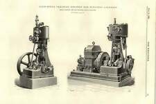 1894 High-speed Vertical Engines For Electric Lighting Ransomes Sims Jefferies