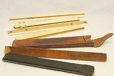 New listing Vintage Lot Of Assorted Slide Rules & Rulers