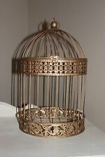 Gold color Wedding Card Birdcage holder, Wedding Birdcage,