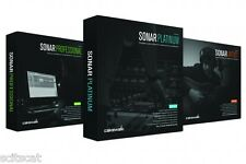 New Cakewalk Sonar Professional Retail FULL Computer Recording Software DAW PC