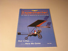 EAA EXPERIMENTER MAGAZINE April 1992 Gene Roberts Little Red Mariner Mono