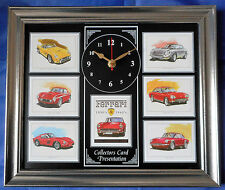 Ferrari 1950-1960 Stunning Collector Cards Wall Clock