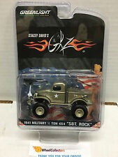 Greenlight 2015 * 1941 Military 1/2 Ton 4x4 SGT. ROCK Stacey David's Hobby H233