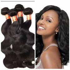 4 Bundles 200g Remy Brazilian Virgin Human Hair Body Wave Extension Weave Weft