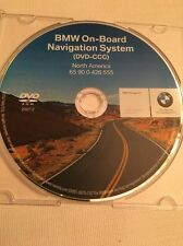 BMW OEM E60 E63 E64 E70 NAV NAVI NAVIGATION MAP GPS DISC DVD CD ON BOARD SYSTEM