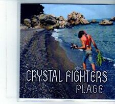 (DU431) Crystal Fighters, Plage - 2011 DJ CD