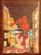 Spiderman, Spider-Man Archives color sketch card 1/1 Tess Fowler