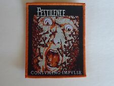 PESTILENCE CONSUMING IMPULSE WOVEN PATCH
