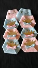 30PC Baby Shower Dirty Diaper Game Gender Reveal Prince or Princess PINS INCL