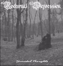 NOCTURNAL DEPRESSION - Suicidal Thoughts CD,neu