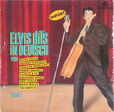 ELVIS PRESLEY Elvis Hits In Deutsch BEAR FAMILY LP
