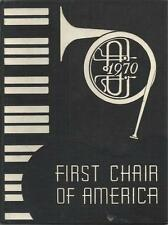 1970 FIRST CHOIR OF AMERICA YEARBOOK, FOR BANDS, ORCHESTRAS & CHORUSES