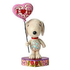 Jim Shore Peanuts Traditions Snoopy Heart Balloon Statue