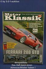 Motor Klassik 7/07 Ferrari 288 GTO Humber Ford Escort