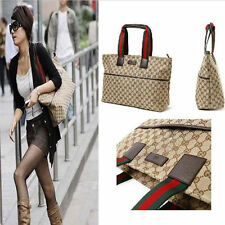 New Fashion Classical Women Canvas Handbag Shoulder Bag Large Tote Satchel SP