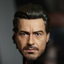 HOT FIGURE TOYS 1/6 HEADSCULPT Sherlock Holmes HEADPLAY Robert Downey Jr