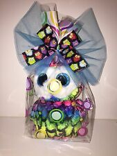 TY ARIA MULTI COLORED OWL BEANIE BOOS,CELLO WRAP, NEW,MINT TAGS-SO CUTE & BRIGHT