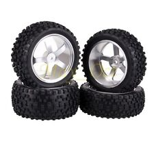 SET 1/10 Off-Road Buggy Front & Rear Aluminium Alloy Wheel Rim Tyre,Tires 66112