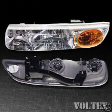 2000-2002 Saturn SL SL1 SL2 SW2 Headlight Lamp Clear lens Halogen Left Side
